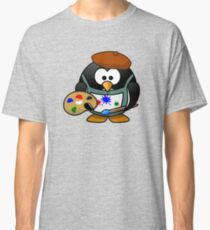 Painter Penguin Classic T-Shirt