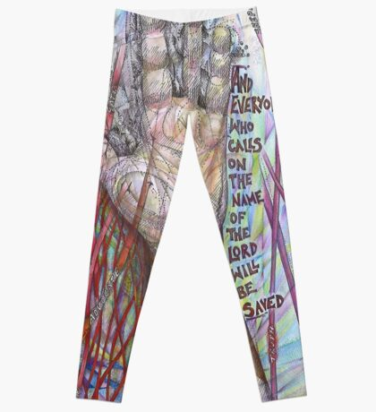 The Name of the Lord (All who Call) Leggings