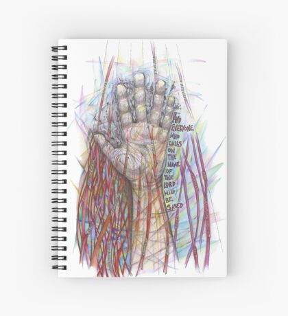 The Name of the Lord (All who Call) Spiral Notebook