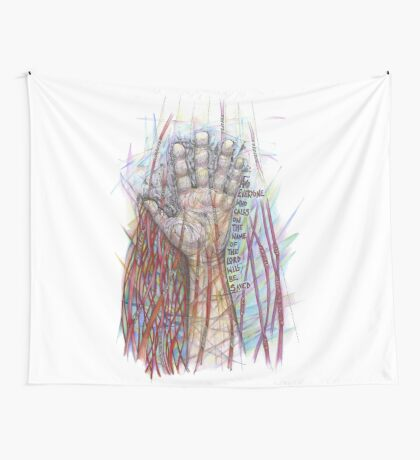 The Name of the Lord (All who Call) Wall Tapestry