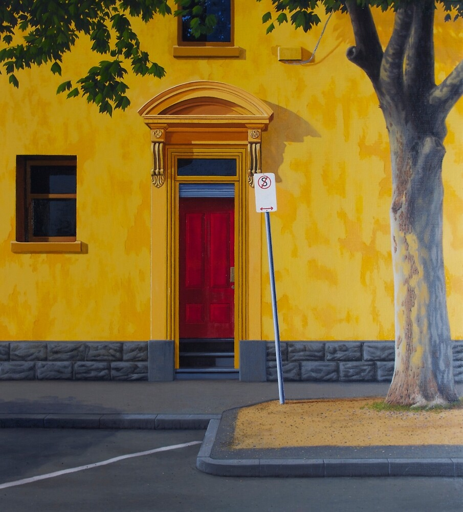 Private Club, 2012. Oil on Linen, 84X76cm. by Jason Moad