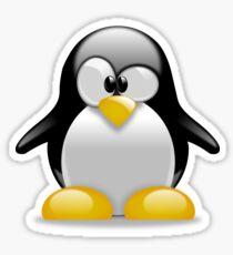 Confused Penguin Sticker