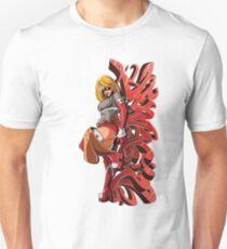 Dynagirl Graphitti Unisex T-Shirt