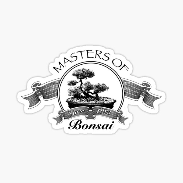 Masters of Bonsai Sticker