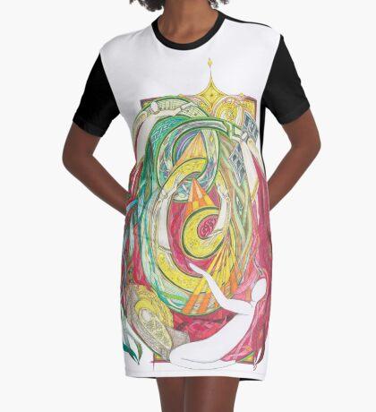 O Holy Night Graphic T-Shirt Dress
