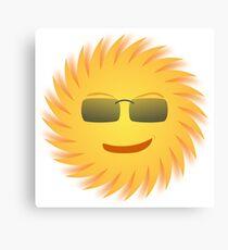 Cool Sun Canvas Print