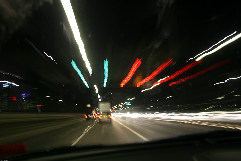 Night Driving by Chris Putnam