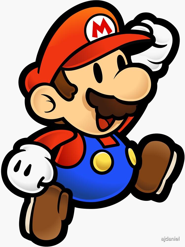 Super Paper Mario Jumping de ajdaniel