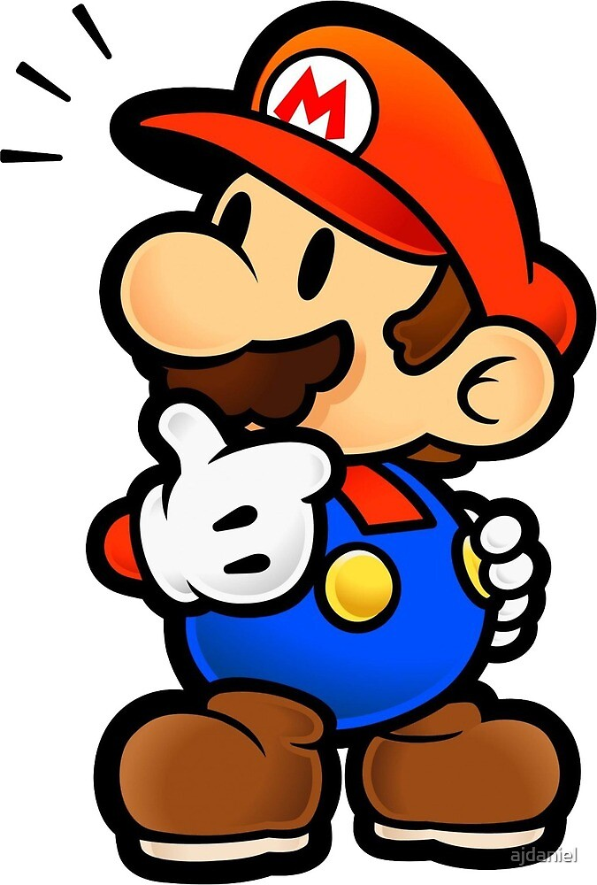 Help my daddy paper mario