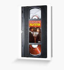 Pulp Fiction Travolta case Greeting Card