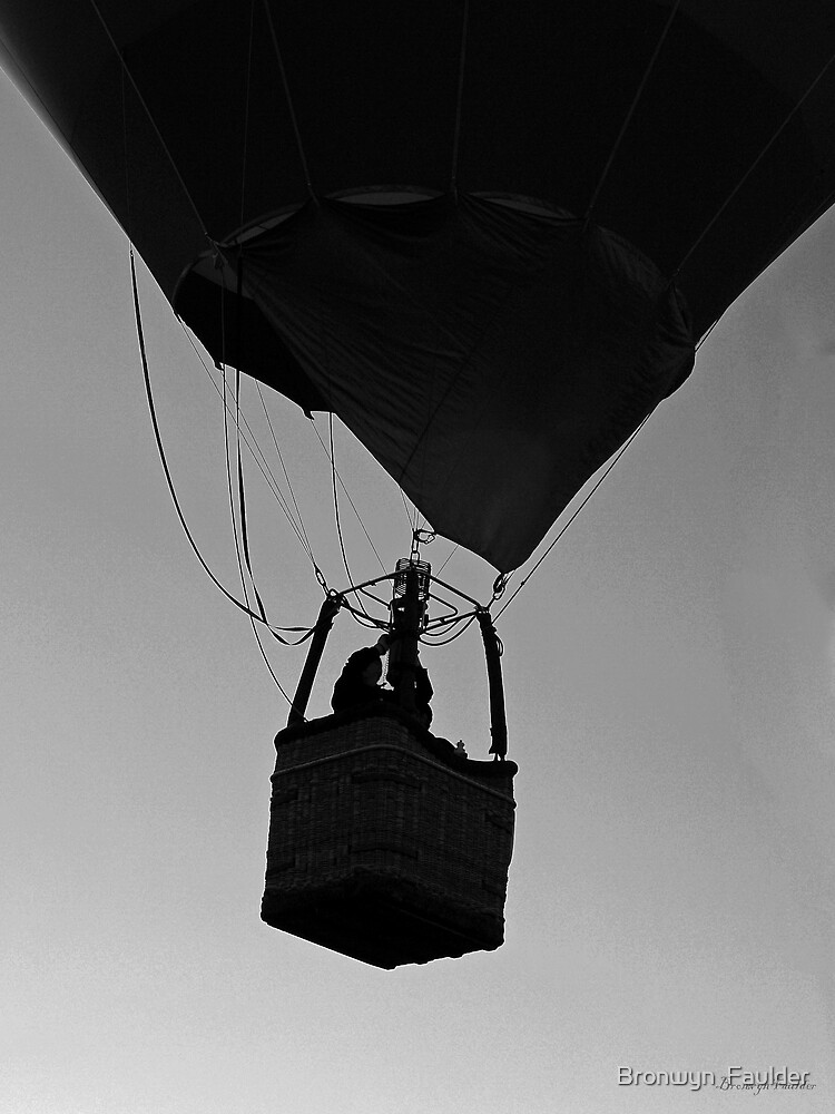 up and up and away by Bronwyn  Faulder