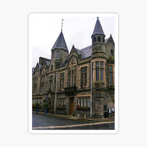 Council Building, Perth, Scotland Sticker