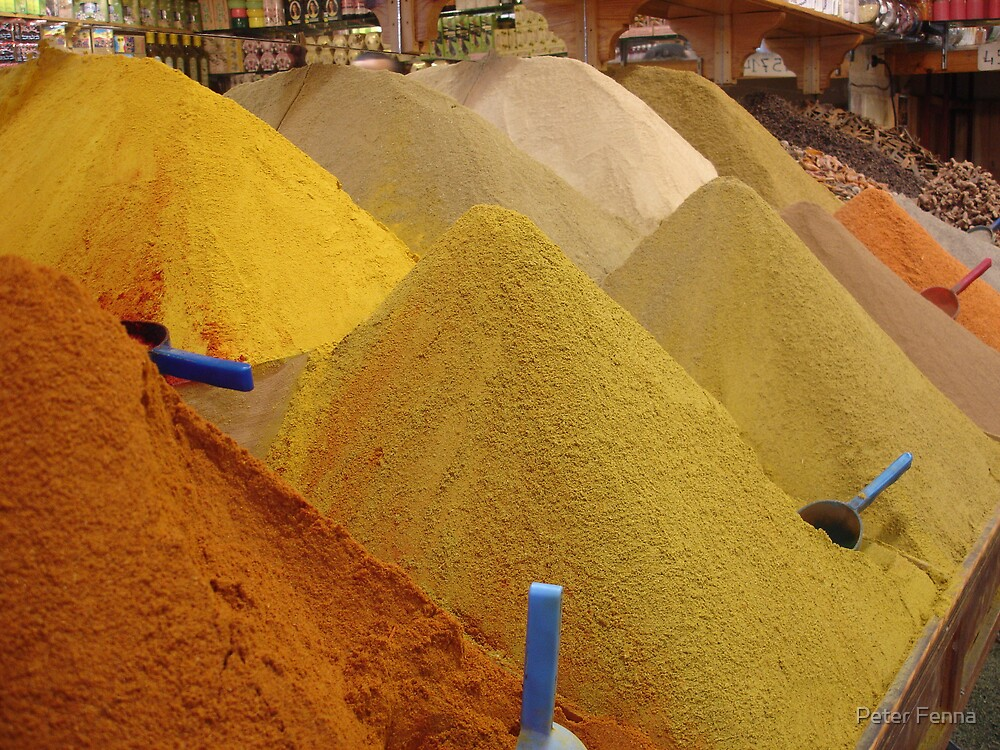 Spices, Spices, & Spices by Peter Fenna