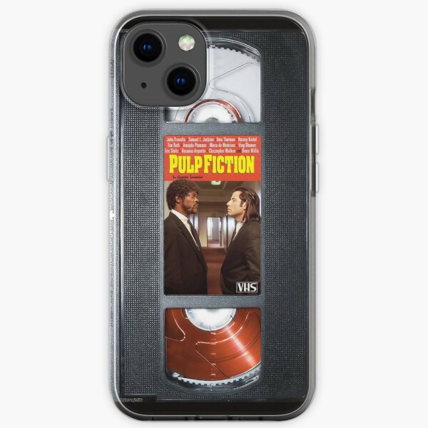 Pulp Fiction Travolta case iPhone Soft Case