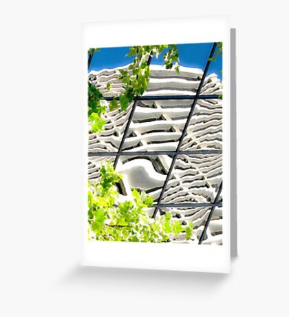abstracts in glass Greeting Card