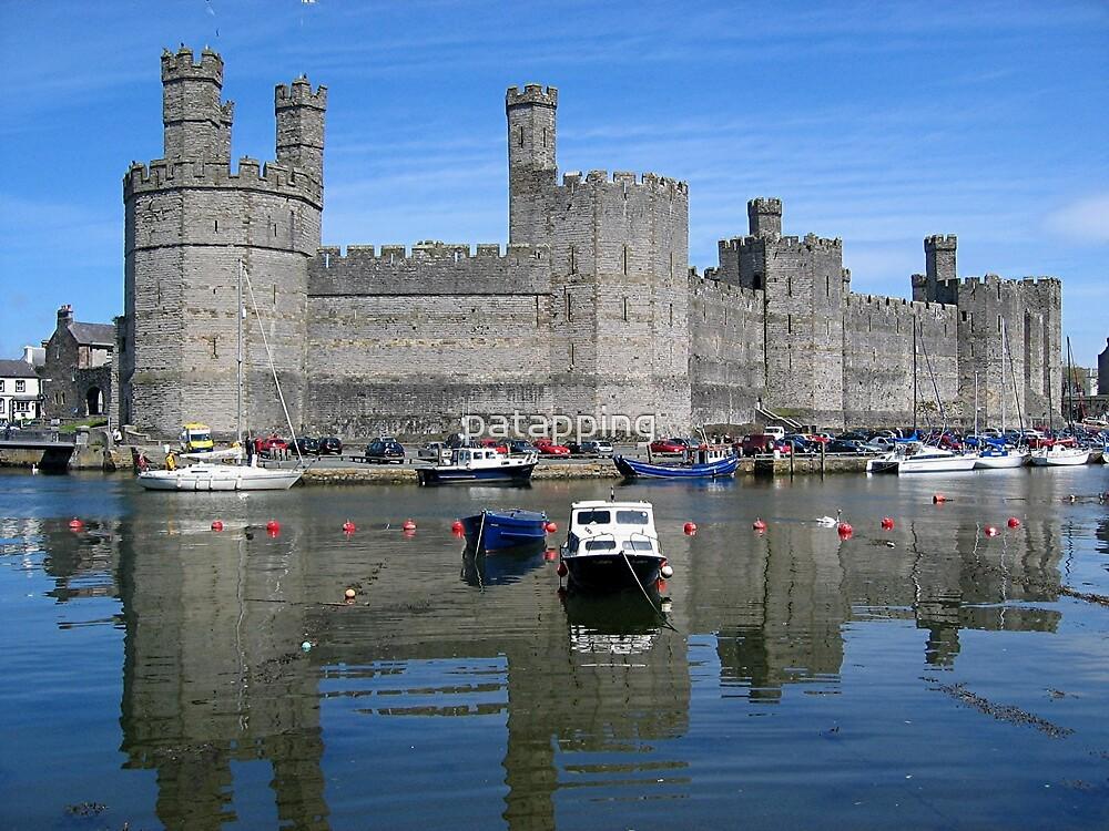 Caernarfon Castle by patapping