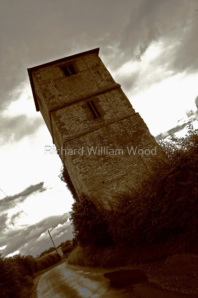 tower in rugby by Richard William Wood