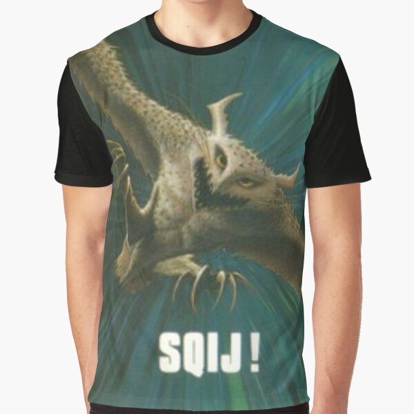 SQIJ! ~ Terrible Old Games Graphic T-Shirt