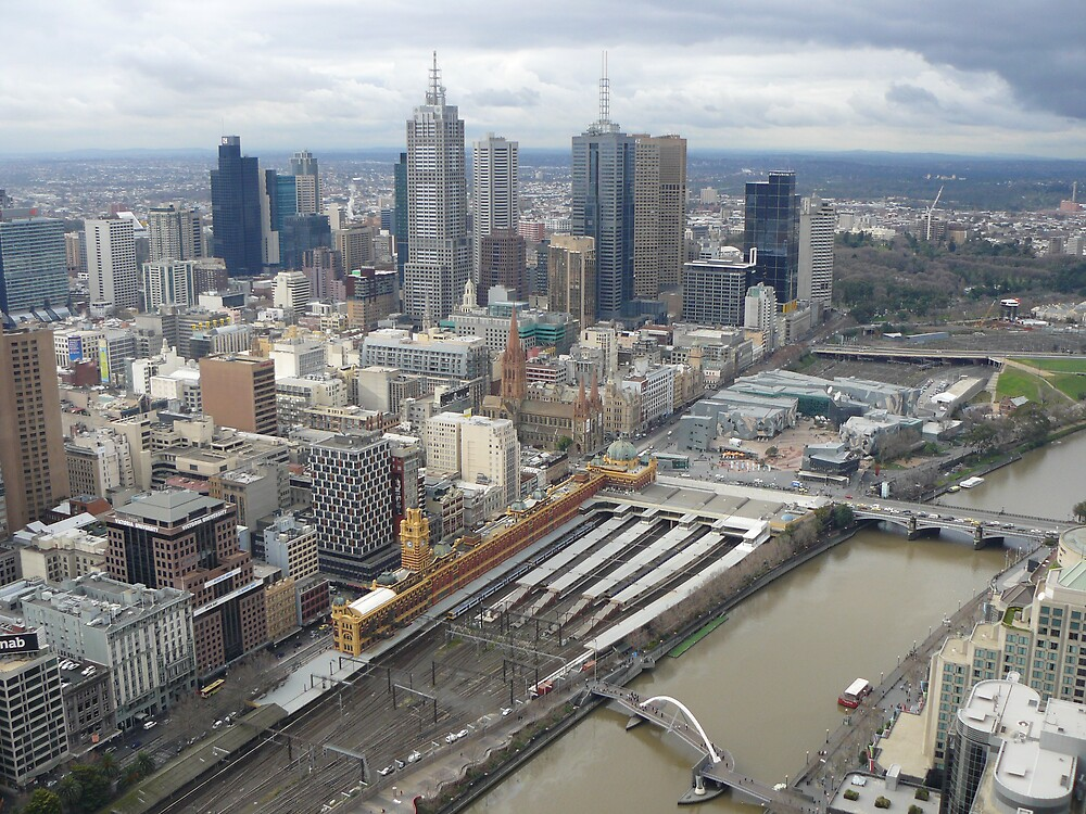 Melbourne by DICKO