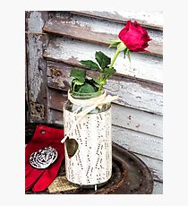 Old Fashioned  Romance................ Photographic Print