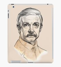 Dr John H. Watson - Martin Freeman Portrait Sketch Abominable Bride  iPad Case/Skin
