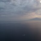 Before Sunrise Bay of Naples by Ashley Ng
