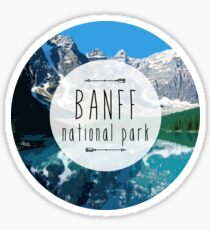 Banff National Park Sticker
