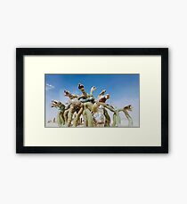 Monsters on the Playa Framed Print