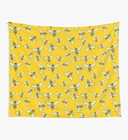 Honey Makers Wall Tapestry