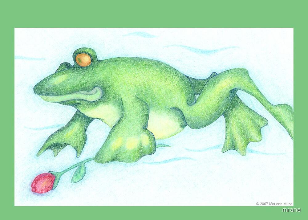Frog Love by Mariana Musa