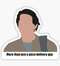 Glenn the pizza guy Sticker