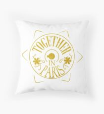 See you in Paris Throw Pillow