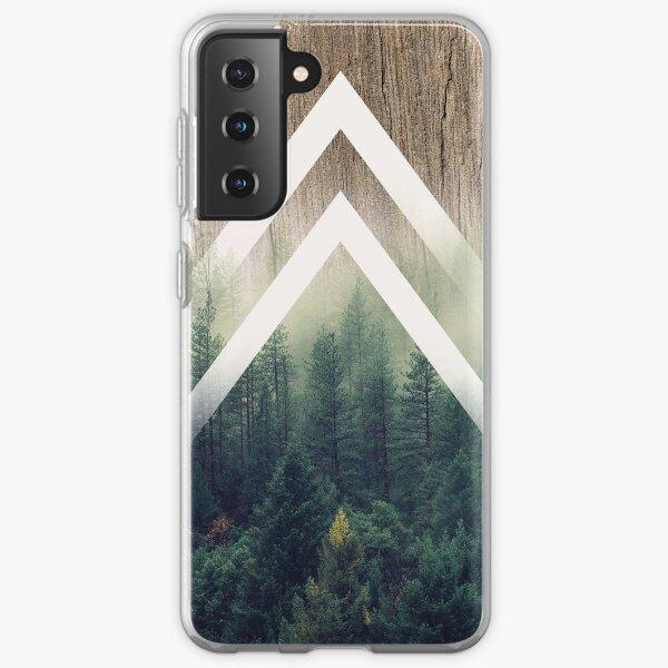Geometric Misty Forest Samsung Galaxy Soft Case
