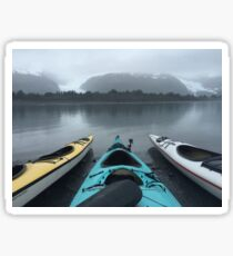 Kayak Alaska Sticker