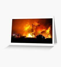 Australian Bushfires Greeting Card