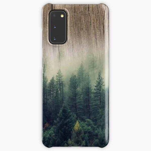 Misty Forest Wood Samsung Galaxy Snap Case