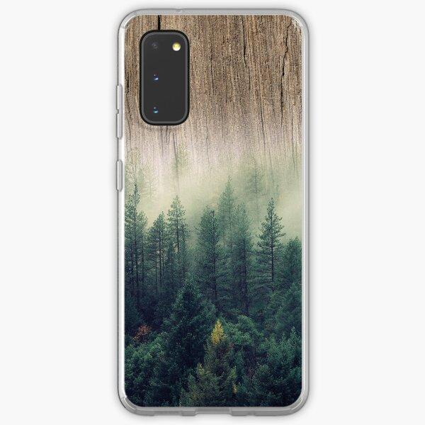 Misty Forest Wood Samsung Galaxy Soft Case