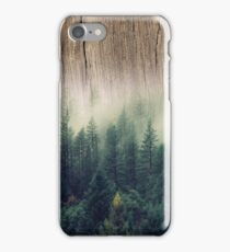 Misty Forest Wood iPhone Case/Skin