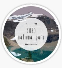Yoho National Park Sticker