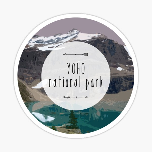 Yoho National Park Sticker