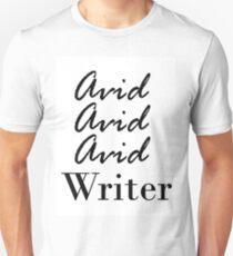 Avid Writer Unisex T-Shirt