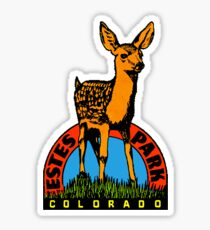 Estes Park Colorado Vintage Travel Decal Sticker