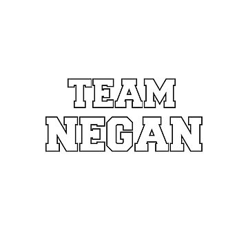 Team Negan (The Walking Dead) by cpt-2013