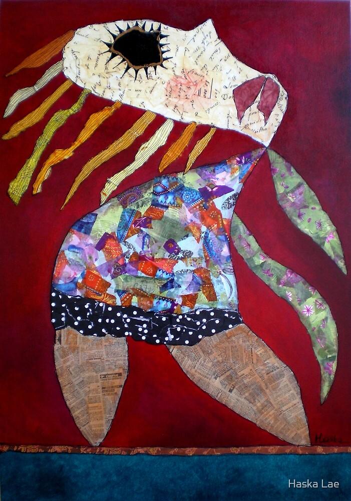 Les Pieds dans l'eau by Haska Lae