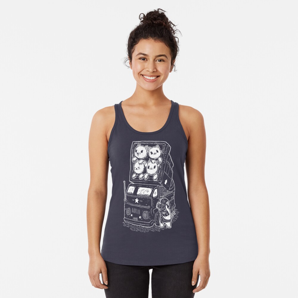 Kitty Cannon Racerback Tank Top