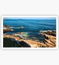 Edge of the Sea Sticker