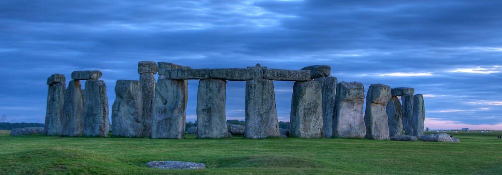 Stonehenge Panorama by Craig Goldsmith