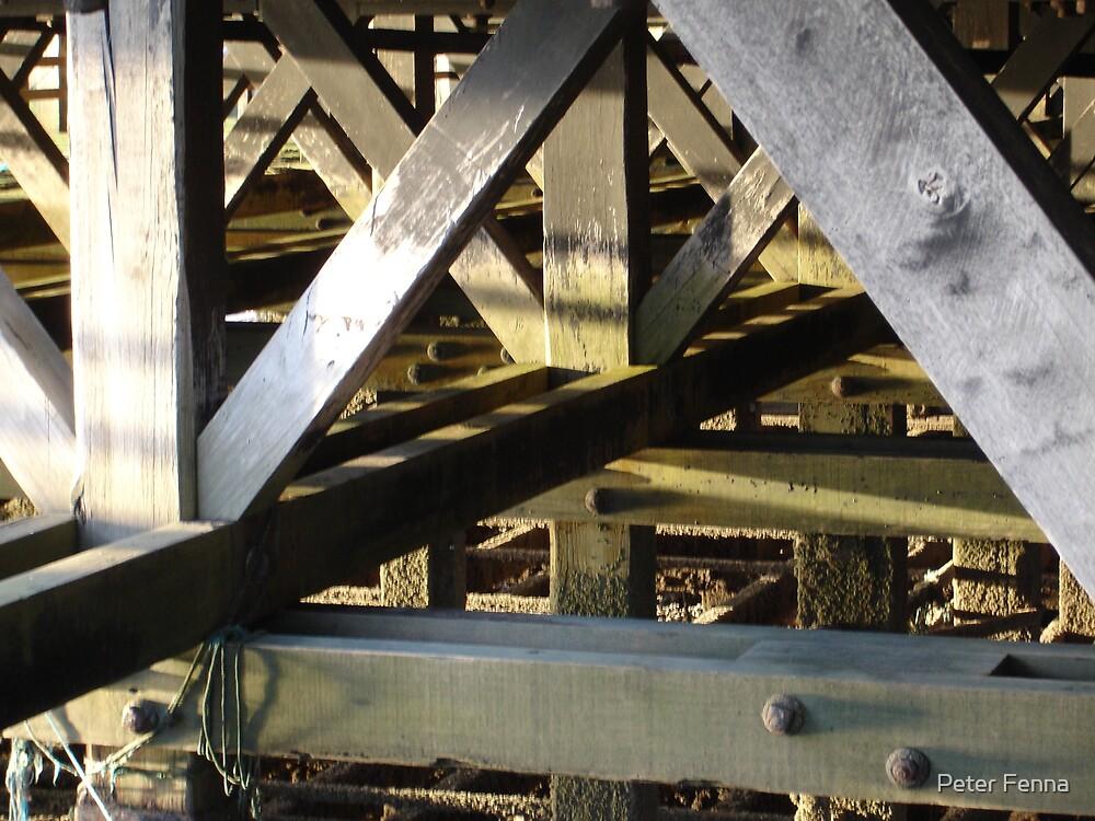 Under the pier 2 by Peter Fenna