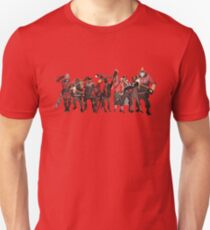 The Team Fortress Two Team Unisex T-Shirt
