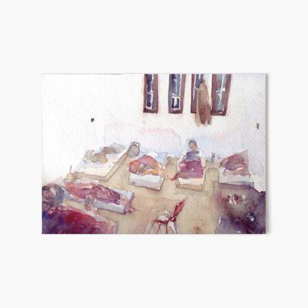 Tamanrasset Algeria, Dar el imzad Art Board Print